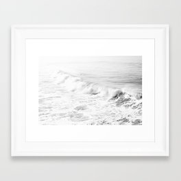 Pacific Ocean from Manhattan Beach Framed Art Print