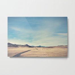 A Country Mile Wide Metal Print