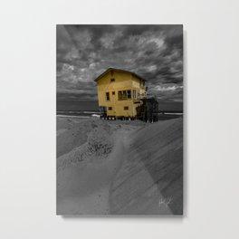 Derelict House Nags Head, NC Metal Print