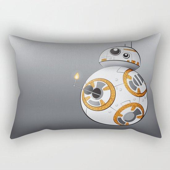War in the Stars -- BB-8 Rectangular Pillow