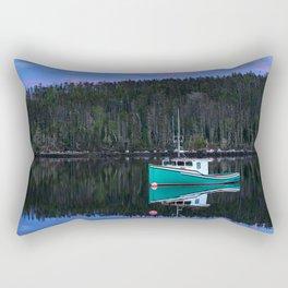 Reflecting Twilight Rectangular Pillow