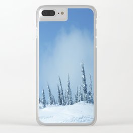 Winter day 12 Clear iPhone Case