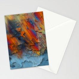 Diagonal Rainbow Redux Stationery Cards