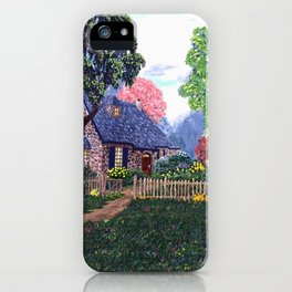 Essex House Cottage by Ave Hurley iPhone Case