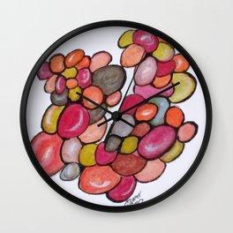 Art Doodle No. 9 Wall Clock