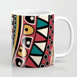 Tribal ethnic background Coffee Mug