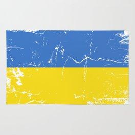 Ukraine flag Rug