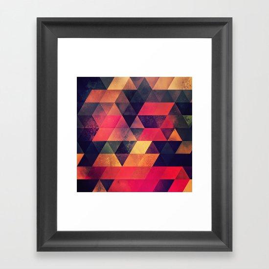 myll tyll Framed Art Print