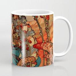 "Alphonse Mucha ""Monaco Monte Carlo"" Coffee Mug"