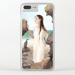 Sofia ~ A Compendium of Witches Clear iPhone Case