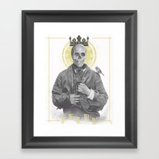 Felon's Wage ≠ Felon's Gift Framed Art Print