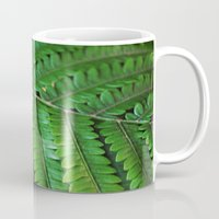 palm Mugs featuring Palm  by arynn