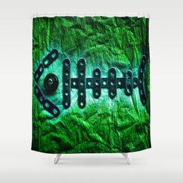 Golden Fish Shower Curtain