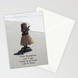 Wolfen Hula Babe Stationery Cards