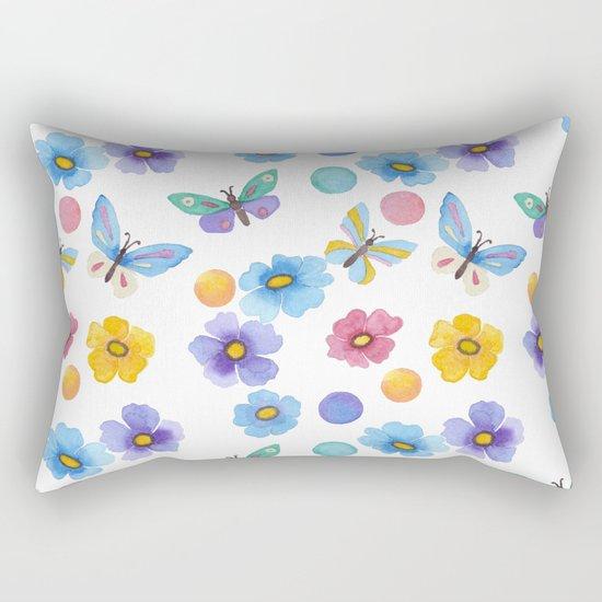 Spring . Butterfly . Rectangular Pillow