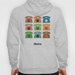 iRetro (boys) / white Hoody