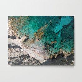 Cala Boquer - Mallorca Metal Print