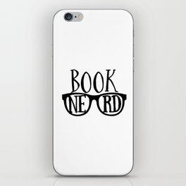 Book Nerd iPhone Skin