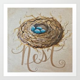 Nest Where You Are Art Print