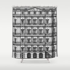 Windows and Columns Shower Curtain