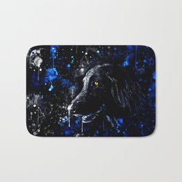 black labrador retriever dog wsdb Bath Mat