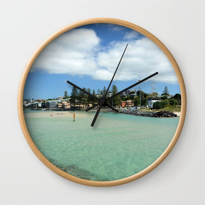 Coastal Bliss Wall Clock