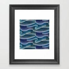 Aurora Borealis_Color Sky Lights Framed Art Print