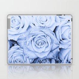 Some people grumble - Blue Rose, Floral Roses Flower Flowers Laptop & iPad Skin