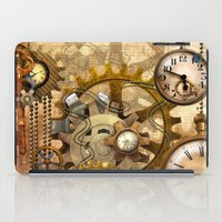steampunk iPad Cases featuring steampunk by Ancello