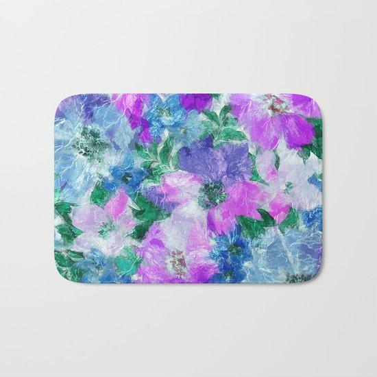 Splendid Flowers 3 Bath Mat