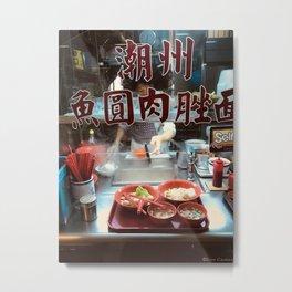 divine noodles Metal Print