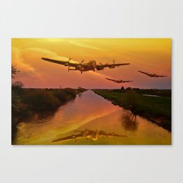 Follow Me Boys! Canvas Print