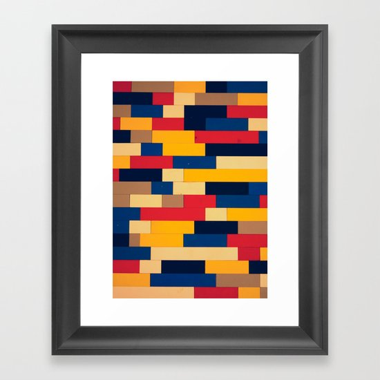 Another Brick In The Wall Framed Art Print
