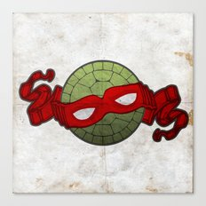 the red turtle Canvas Print