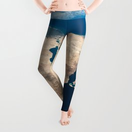 The Nile and the Sinai, to Israel and beyond. One sweeping glance of human history Leggings