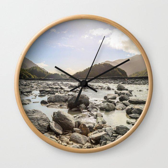 Spoken by Steven Wall Clock