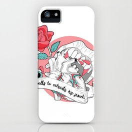 Do you love my insides? iPhone Case