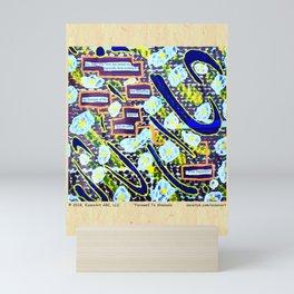Farewell To Shamans Mini Art Print
