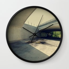 Blue Bridge Wall Clock