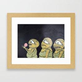 The Waiters Framed Art Print