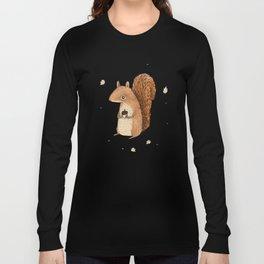 Sarah the Squirrel Long Sleeve T-shirt