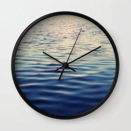 Serenity. Sense of Calm. Wall Clock