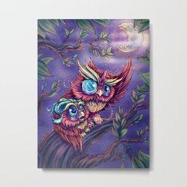 Wise Owl Metal Print