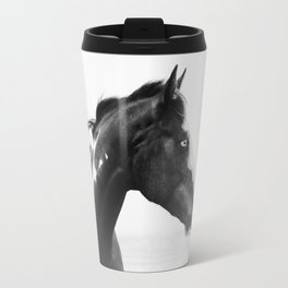 overo horse Travel Mug