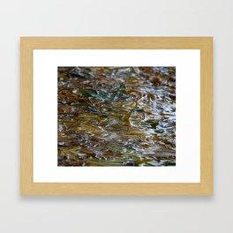 drops & sheETs Framed Art Print