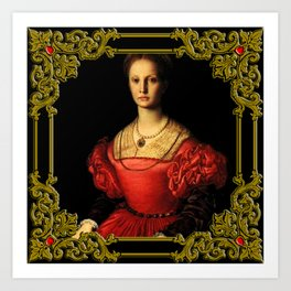 Elizabeth Bathory, The Bloody Countess Art Print