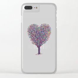 Nature's Love Clear iPhone Case