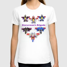 Micro Starscream's Brigade T-shirt