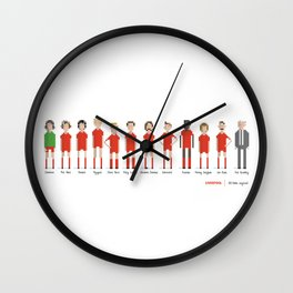 Liverpool - All-time squad Wall Clock