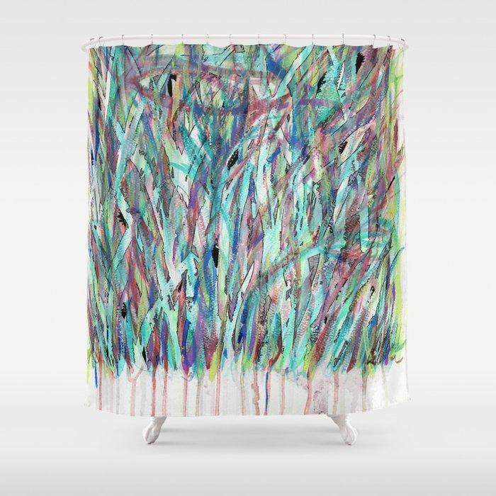 Meadows (Self- Portrait) Shower Curtain